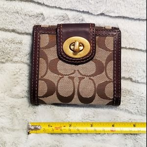 2/$20 Coach signature wallet